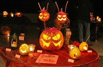 Concours décoration de citrouilles  2005